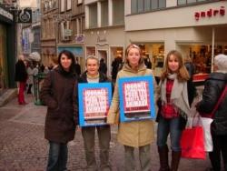 Action Droits des animaux le 6 décembre 08