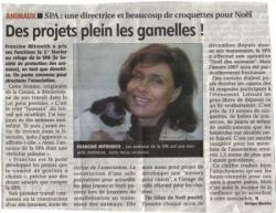Nouvelle directrice à la SPA Limoges