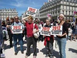 La Manifestation anti corrida du 27 mai 2011