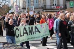 Manifestation à Guéret 13 avril 2013