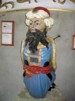 Tresco, musée des figures de proue