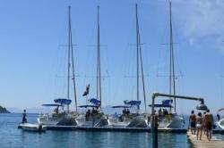 nos bateaux au ponton