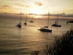 13 coucher de soleil à St Eustache