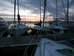 soirée au port