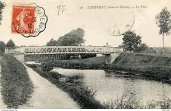 Le pont rue de Lesches