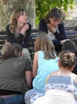 Claire Frappé et Suzanne Bogeat
