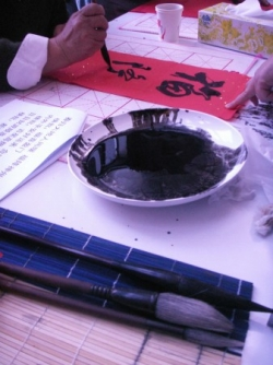 Black Ink / Encre noire