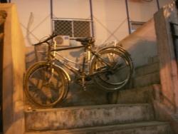 même dans les escaliers
