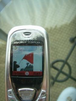 1st SMS / 1er sms