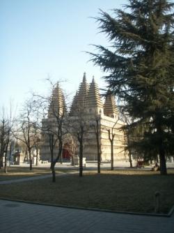 Cinq Pagodes / Five Pagodas
