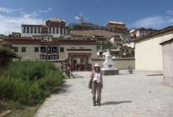 Ozlem et le temple