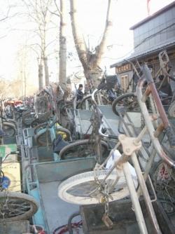 Pas facile de retrouver son vélos !
