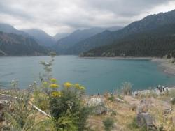 Enfin le lac...