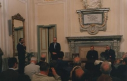 Conférence à Turin, en 1997