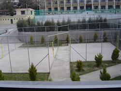 Un terrain de sport