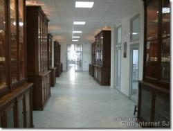 Un des couloirs du lycée