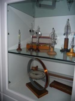 Quelques pièces de collections dans les vitrines d