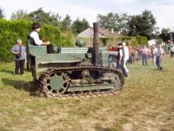 Tracteur à chenilles