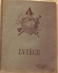 Cahier Lutèce