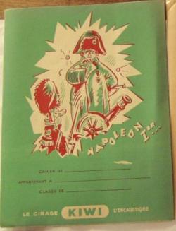Protège-cahier publicitaire en papier