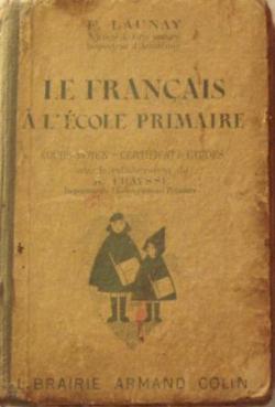 Le Français à l'école primaire