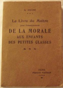 Le livre du maître pour l'nseignement de la morale