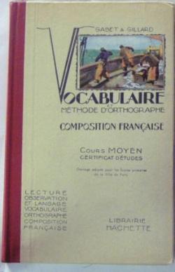 Vocabulaire et méthode d'ortographe