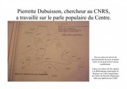Le travail de Pierrette Dubuisson 1