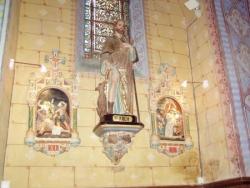 Rennes-le-Château, statue de saint Roch