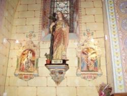 Rennes-le-Château, statue de Marie-Madeleine