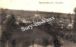 Sury-en-Vaux en cartes postales