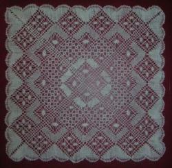 carré torchon - Madeleine