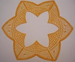 Napperon étoile de Martine Piveteau