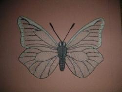 Papillon soie MH