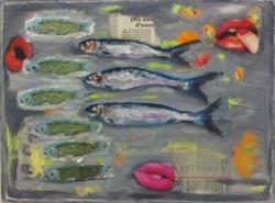 Las sardinas (collage)