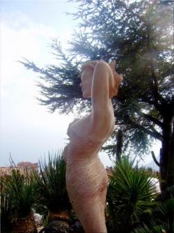 Eze - sculpture Jean-Philippe Richard