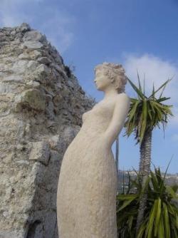 Eze sculpture Jean-Philippe Richard 2