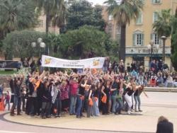 Flash mob nice