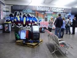 """Urban inside, graff et custom"" Espace LE MODULE"