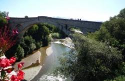 Le pont du diable sur le Teck à Céret