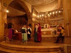 Les templiers à Biot, concert des Latines