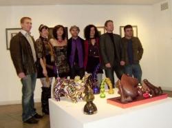 Expo Charme et gourmandise galerie un oeil ouvert