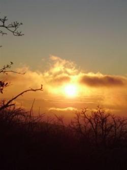Col de Vence - 1er lever de soleil 2011