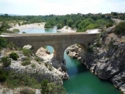 Le pont du diable sur l'Hérault