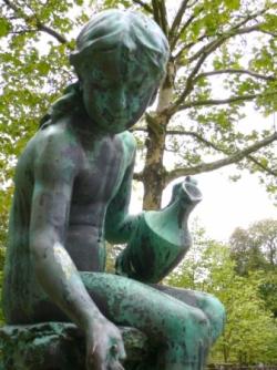 dans le jardin royal des belges