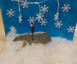Voyage au pôle nord....