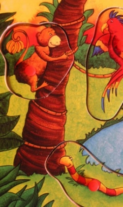 détail de la jungle