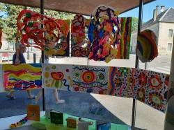 L'Expo Idéale des Francas à la médiathèque de Quin