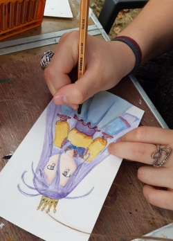 Initiation aquarelle Manga
