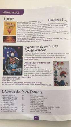 Exposition médiathèque de St Vit